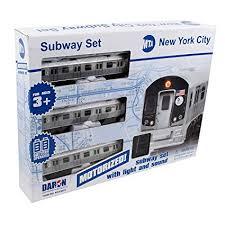<b>New</b> York MTA <b>New</b> York <b>City</b> 3 Pc. <b>Battery</b> Operated <b>Train</b> Set with ...