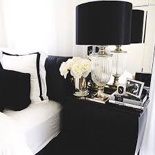 is there anything more appealing than a fully monochrome bedroom with hints of colour here and there were firm believers in the answer no and if you are black bedroom furniture hint