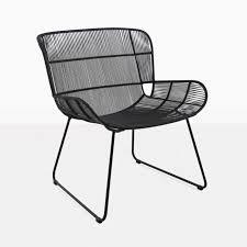 Teak Warehouse Nairobi Woven <b>Relaxing Chair</b> (<b>Black</b>)-0   Outdoor ...