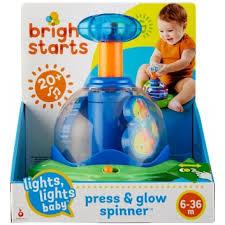 юла bright starts волшебная вертушка со светом 10042