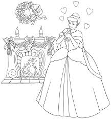 Small Picture Disney Princess Cinderella Coloring Pages Games Coloring Pages