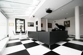 black and white office toya design courtesy of toya design black and white office design