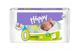 <b>Подгузники</b> before <b>newborn</b> (до 2 кг) <b>BELLA Baby</b> Happy, 25 шт ...