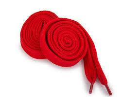 <b>Шнурки Corbby</b> плоские красные <b>120 см</b> - Сеть спортивных ...