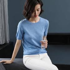 zocept <b>2019</b> Women's <b>Short Sleeved</b> Sweaters Women Cashmere ...
