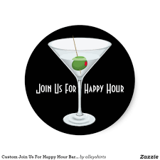elegant happy hour invitation e card design template red others interesting custom happy hour party invitation e card design round shaped card plus