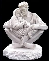 Image result for Holy family statue