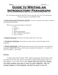 how to write an intro paragraph for an essay write essay introduction paragraph