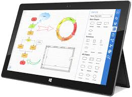 windows    ipad  android and desktop diagramming  floor planning    online flow charting and diagramming software