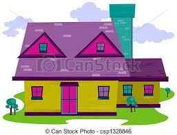Resultado de imagen para imagen en caricatura de una casa