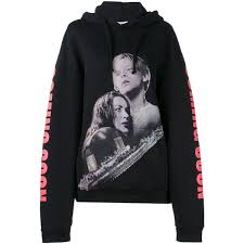 <b>VETEMENTS</b> Oversized Titanic Print Hooded <b>Sweatshirt</b> ($625 ...