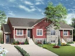 Multi Family House Plans  Triplexes  amp  Townhouses   The House Plan Shop  Plex House Plan  M
