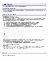 part time s associates resume sample template experience  template experience summary retail description sample of s associate