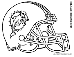 Small Picture Miami Dolphins Coloring Pages chuckbuttcom