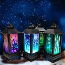 Yomiafy Set of 4 Pack <b>Halloween LED</b> Lighted Night Light ...