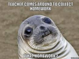 Best Excuses For Not Doing Your Homework   Playbuzz http   hotmeme net media i     gAE english class always did this chocolate to me jpg
