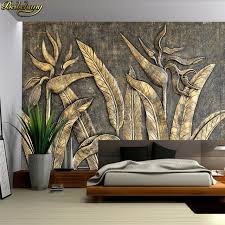 <b>beibehang Custom Photo Wallpaper</b> Mural Golden Bird Sculpture ...