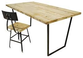 brooklyn rustic reclaimed wood desk standard 36x20 contemporary desks brooklyn modern rustic reclaimed wood