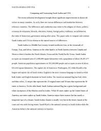 compare and contrast between saudi arabia and usa english essay    compare and contrast between saudi arabia and usa essay example