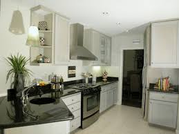 awesome white ceiling painted and lighting over black granite countertop in attic kitchen ideas white cabinets attic furniture ideas