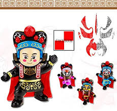 Lily <b>Chinese Style Features</b> Sichuan Drama Face Doll, Children's ...