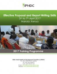 COURSE TITLE  EFFECTIVE PROPOSAL AND REPORT WRITING SKILLS TRAINING      SlideShare