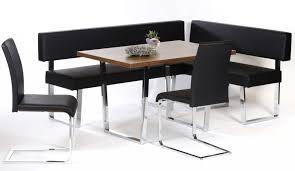 booth dining set black