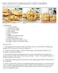 recipes darling doodles the recipe pdf