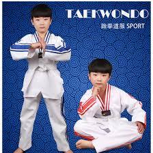 <b>Adult</b> Man Women <b>child</b> kids <b>Breathable cotton</b> Taekwondo uniform ...