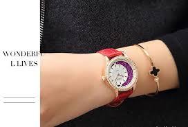 Xiqiao <b>Zivok Watch Female</b> Fashion Light <b>Luxury</b> Glitter Dial With ...