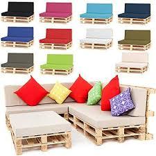 Outdoor <b>Garden Pallet</b> Furniture Seating <b>Corner Sofa</b> - Back ...