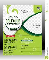 golf tour nt flyer template design illustration stock vector golf tour nt flyer template design illustration