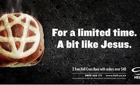 New Zealand churches upset over <b>hot cross</b> buns 'like Jesus ...