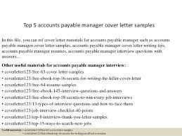 top  accounts payable manager cover letter samplestop  accounts payable manager cover letter samples in this file  you can ref cover