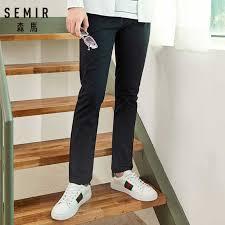SEMIR облегающие хлопковые <b>брюки</b> для мужчин, <b>брюки Чино</b> ...