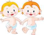 Поздравления с днем рождения для близнецов мальчиков