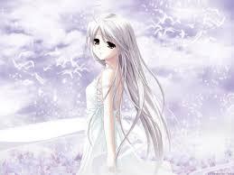 """Résultat de recherche d'images pour """"fille manga cheveux blanc"""""""