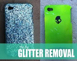 the <b>DIY</b>: <b>REMOVE</b> THAT GLITTER!