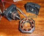 Управление шаговым двигатель от принтера