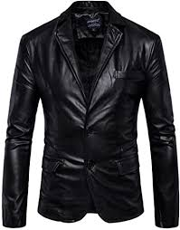 DANNI <b>Autumn</b> Winter <b>Men's</b> Casual Leather Jacket <b>Large Size</b> ...