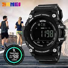 SKMEI 1227 <b>Men Smart Sport</b> Bluetooth Pedometer Waterproof ...