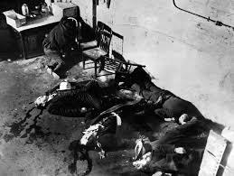 「1929, valentain day massacure in chikago」の画像検索結果
