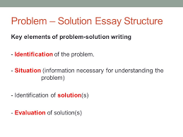 academic english iii class  may  today organizing a problem  problem  solution essay structure key elements of problem solution writing   identification of the