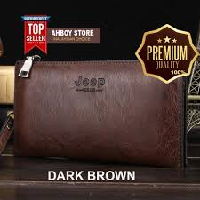 [PREMIUM] JEEP <b>NEW</b> Professional Men <b>Fashion Genuine Leather</b> ...