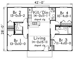 Bedroom Single Floor House Plans Floor Bedroom House  Beforte cosquare feet bedrooms batrooms on levels floor plan number
