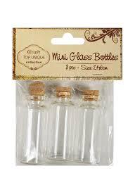 <b>Набор декоративных</b> стекл. бутылочек (3шт.) (2,<b>4</b> х 6см ...
