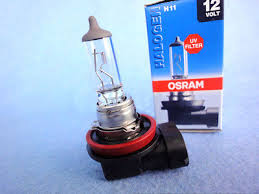 <b>OSRAM H11</b> light <b>12V55W PGJ19</b>-<b>2</b> 3200K 64211 HALOGEN Fog ...