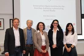 Lidija Lalicic     PhD Dissertation Defense Defense  PhD committee  Dr  Scharl  Dr  Mazanec  Dr  Dickinger  Dr