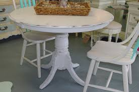 Distressed White Kitchen Table White Distressed Dining Room Sets Bettrpiccom