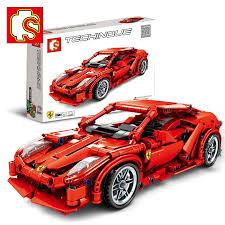 <b>Children's Toys</b> Red Pull Back Racing Car <b>Simulation</b> Assembling ...